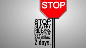 Stop Slavery Ride in Okinawa